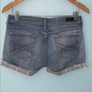 Citizens of Humanity SZ 28 Cut Off Jean Shorts